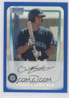 2011 Bowman Chrome Multi-Product Insert [Base] Blue Refractor #BCP23 - Vinnie Catricala