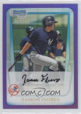 2011 Bowman Chrome Multi-Product Insert [Base] Purple Refractor #BCP166 - Ramon Flores /799