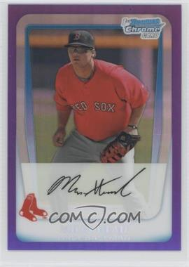 2011 Bowman Chrome Multi-Product Insert [Base] Purple Refractor #BCP188 - Miles Head /799