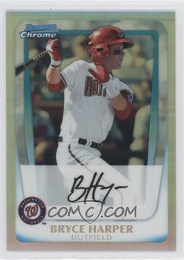 2011 Bowman Chrome Multi-Product Insert [Base] Refractor #BCP1 - Bryce Harper /799