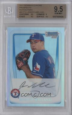 2011 Bowman Chrome Multi-Product Insert [Base] Refractor #BCP33 - Joseph Wieland /799 [BGS 9.5]