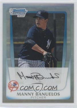 2011 Bowman Chrome Multi-Product Insert [Base] Refractor #BCP44 - Manny Banuelos /799