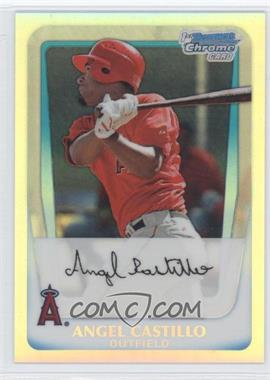 2011 Bowman Chrome Multi-Product Insert [Base] Refractor #BCP57 - Angel Castillo /799