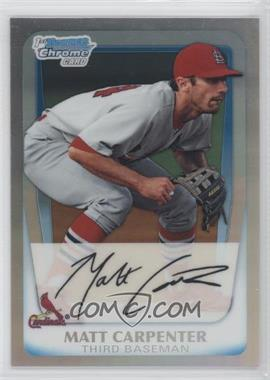 2011 Bowman Chrome Multi-Product Insert [Base] Refractor #BCP66 - Matt Carpenter /799