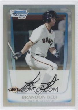 2011 Bowman Chrome Multi-Product Insert [Base] Refractor #BCP93 - Brandon Belt
