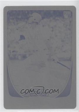 2011 Bowman Chrome Printing Plate Black #12 - Domonic Brown /1
