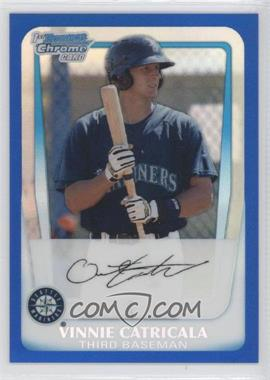 2011 Bowman Chrome Prospects Blue Refractor #BCP23 - Vinnie Catricala /250