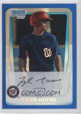 2011 Bowman Chrome Prospects Blue Refractor #BCP5 - Tyler Moore /250