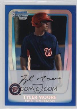2011 Bowman Chrome Prospects Blue Refractor #BCP5 - Tyler Moore /250