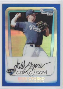 2011 Bowman Chrome Prospects Blue Refractor #BCP83 - Jedd Gyorko /250