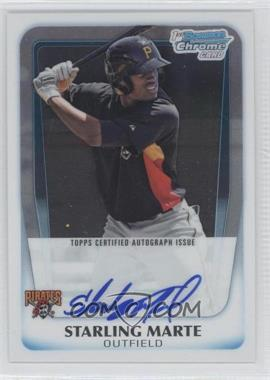 2011 Bowman Chrome Prospects Certified Autographs [Autographed] #BCP178 - Starling Marte