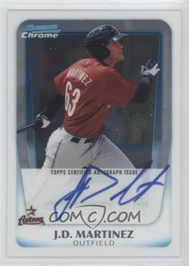 2011 Bowman Chrome Prospects Certified Autographs [Autographed] #BCP92 - J.D. Martinez