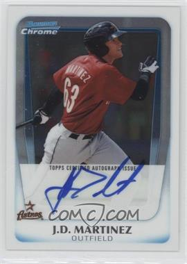 2011 Bowman Chrome Prospects Certified Autographs [Autographed] #BCP92 - J.D. Martinez