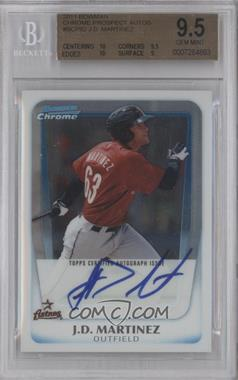 2011 Bowman Chrome Prospects Certified Autographs [Autographed] #BCP92 - J.D. Martinez [BGS 9.5]