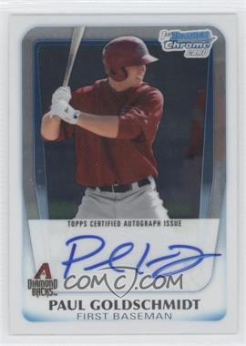 2011 Bowman Chrome Prospects Certified Autographs [Autographed] #BCP99 - Paul Goldschmidt