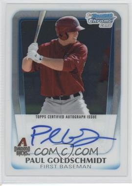 2011 Bowman Chrome Prospects Certified Autographs [Autographed] #BCP99 - Paul Goldschmidt