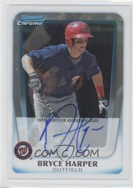 2011 Bowman Chrome Prospects Certified Autographs Refractor [Autographed] #BCP111 - Bryce Harper /500