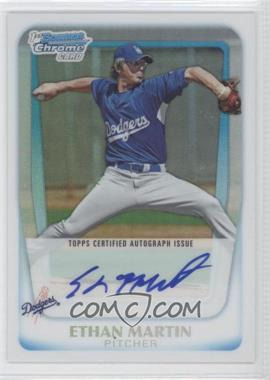 2011 Bowman Chrome Prospects Certified Autographs Refractor [Autographed] #BCP179 - Ethan Martin /500