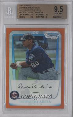 2011 Bowman Chrome Prospects Orange Refractor #BCP28 - Oswaldo Arcia /25 [BGS 9.5]