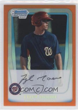 2011 Bowman Chrome Prospects Orange Refractor #BCP5 - Tyler Moore /25