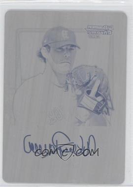 2011 Bowman Chrome Prospects Printing Plate Black #BCP181 - Anthony Ranaudo /1