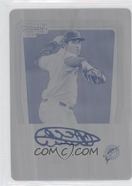 2011 Bowman Chrome Prospects Printing Plate Black #BCP187 - Arquimedes Caminero /1