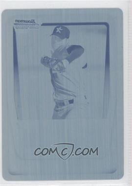 2011 Bowman Chrome Prospects Printing Plate Cyan #BCP150 - Tommy Shirley /1