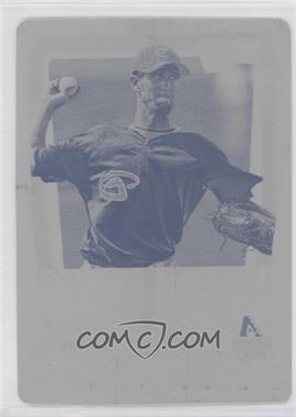 2011 Bowman Chrome Prospects Printing Plate Yellow #BCP19 - Thomas Layne /1