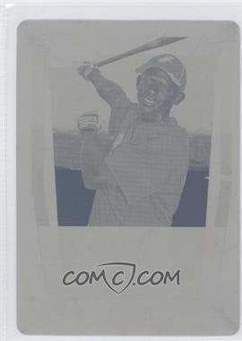 2011 Bowman Chrome Prospects Printing Plate Yellow #BCP38 - Eduardo Escobar /1