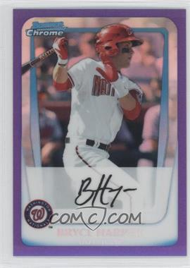 2011 Bowman Chrome Prospects Purple Refractor #BCP1 - Bryce Harper /700
