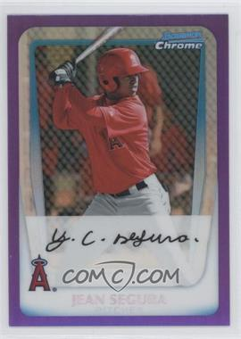 2011 Bowman Chrome Prospects Purple Refractor #BCP131 - Jean Segura /799
