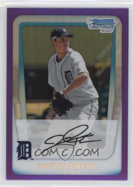 2011 Bowman Chrome Prospects Purple Refractor #BCP185 - Jacob Turner /799