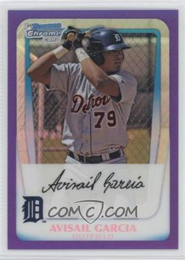2011 Bowman Chrome Prospects Purple Refractor #BCP72 - Avisail Garcia /700