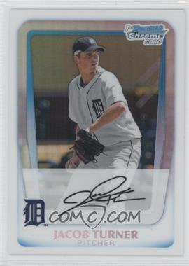 2011 Bowman Chrome Prospects Refractor #BCP185 - Jacob Turner /500