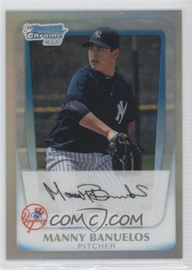2011 Bowman Chrome Prospects Refractor #BCP44 - Manny Banuelos /799
