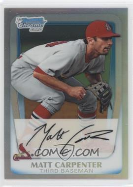 2011 Bowman Chrome Prospects Refractor #BCP66 - Matt Carpenter /799