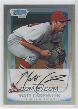 2011 Bowman Chrome Prospects Refractor #BCP66 - Matt Carpenter /799