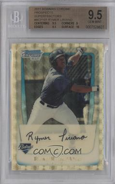 2011 Bowman Chrome Prospects Superfractor #BCP101 - Rymer Liriano /1 [BGS 9.5]