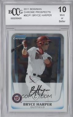 2011 Bowman Chrome Prospects #BCP1 - Bryce Harper [ENCASED]
