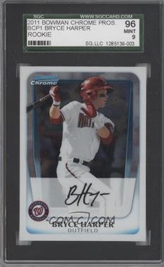 2011 Bowman Chrome Prospects #BCP1 - Bryce Harper [SGC96]