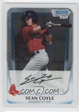 2011 Bowman Chrome Prospects #BCP100 - Sean Coyle