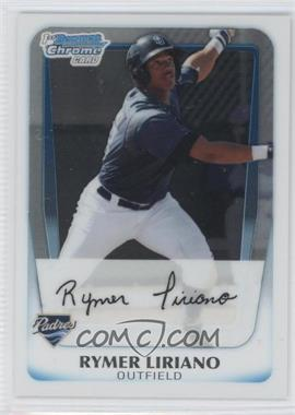 2011 Bowman Chrome Prospects #BCP101 - Rymer Liriano