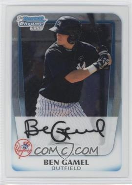 2011 Bowman Chrome Prospects #BCP104 - Ben Gamel
