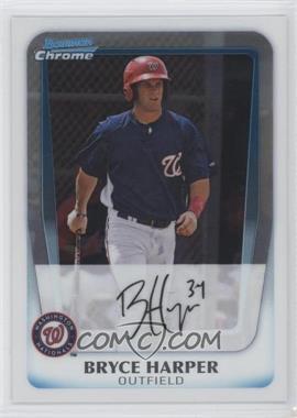 2011 Bowman Chrome Prospects #BCP111 - Bryce Harper