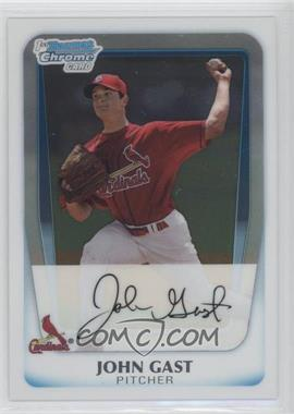 2011 Bowman Chrome Prospects #BCP121 - John Gast