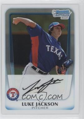 2011 Bowman Chrome Prospects #BCP124 - Luke Jackson