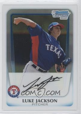 2011 Bowman Chrome Prospects #BCP124 - Luke Jackson