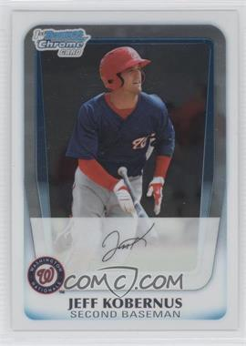 2011 Bowman Chrome Prospects #BCP128 - Jeff Kobernus