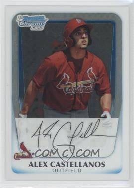 2011 Bowman Chrome Prospects #BCP13 - Alex Castellanos