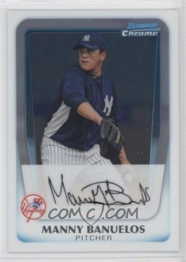 2011 Bowman Chrome Prospects #BCP133 - Manny Banuelos
